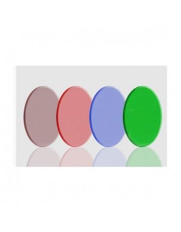 Set filtri dielettrici LRGB Tecnosky non montati da 31mm