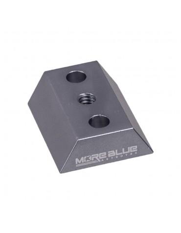 Mini barra a coda di rondine per il cercatore 40mm  More Blue