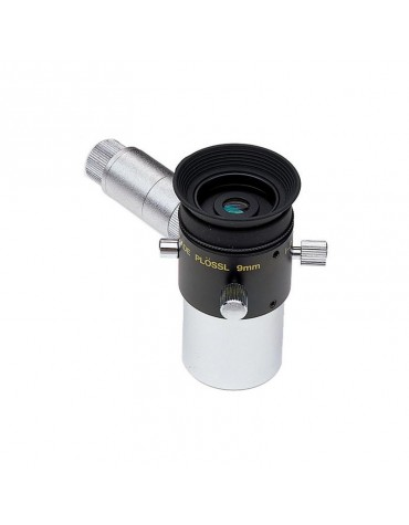 Oculare con reticolo illuminato PL 9 mm con illuminatore