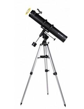 Telescopio riflettore BRESSER Galaxia 114/900 EQ-Sky con adattatore per smartphone