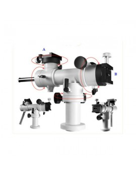 Montatura altazimutale micrometrica T-Sky