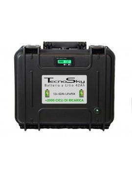PowerTank Tecnosky LiFeP04 12v 42Ah