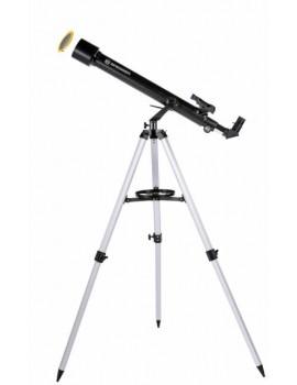 BRESSER Arcturus 60/700 AZ carbon design - con adattatore per fotocamera smartphone