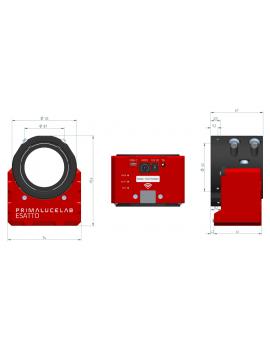 """ESATTO 2"""" focheggiatore robotico micrometrico PrimaLuceLab"""