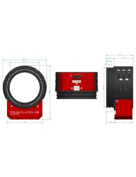 """ESATTO 4"""" focheggiatore robotico micrometrico PrimaLuceLab"""