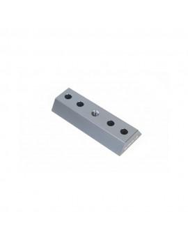 Mini barra a coda di rondine per cercatori 80mm More blue