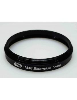 Prolunga con filetto M48 5mm