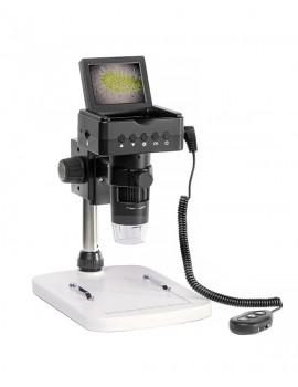 """Microscopio portatile LCD 2,4"""" con supporto"""